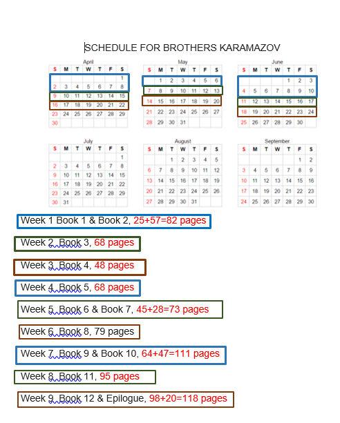 bk schedule